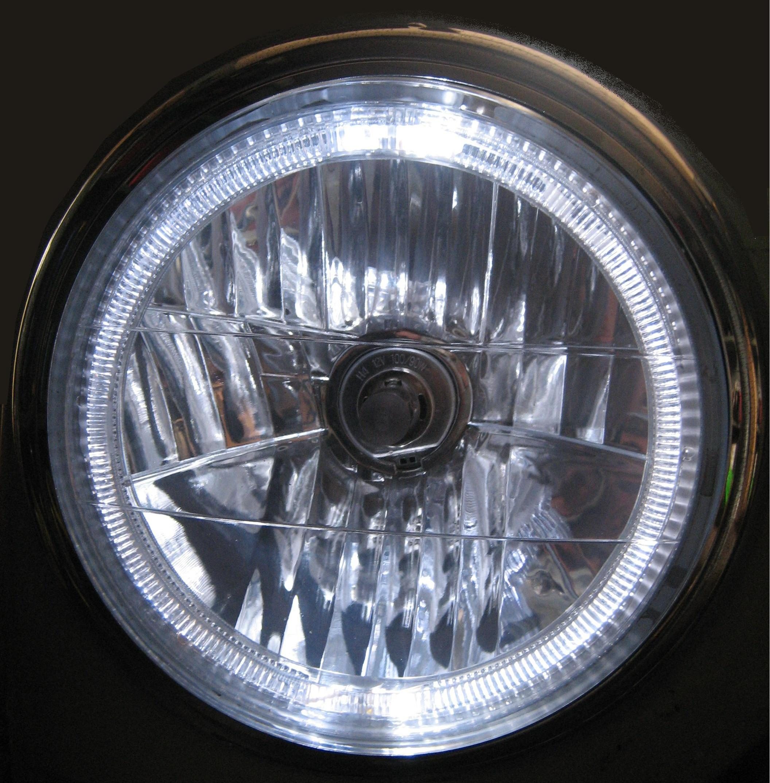 Angel Eye Headlights For Rhd Range Rover Classic Headlamps