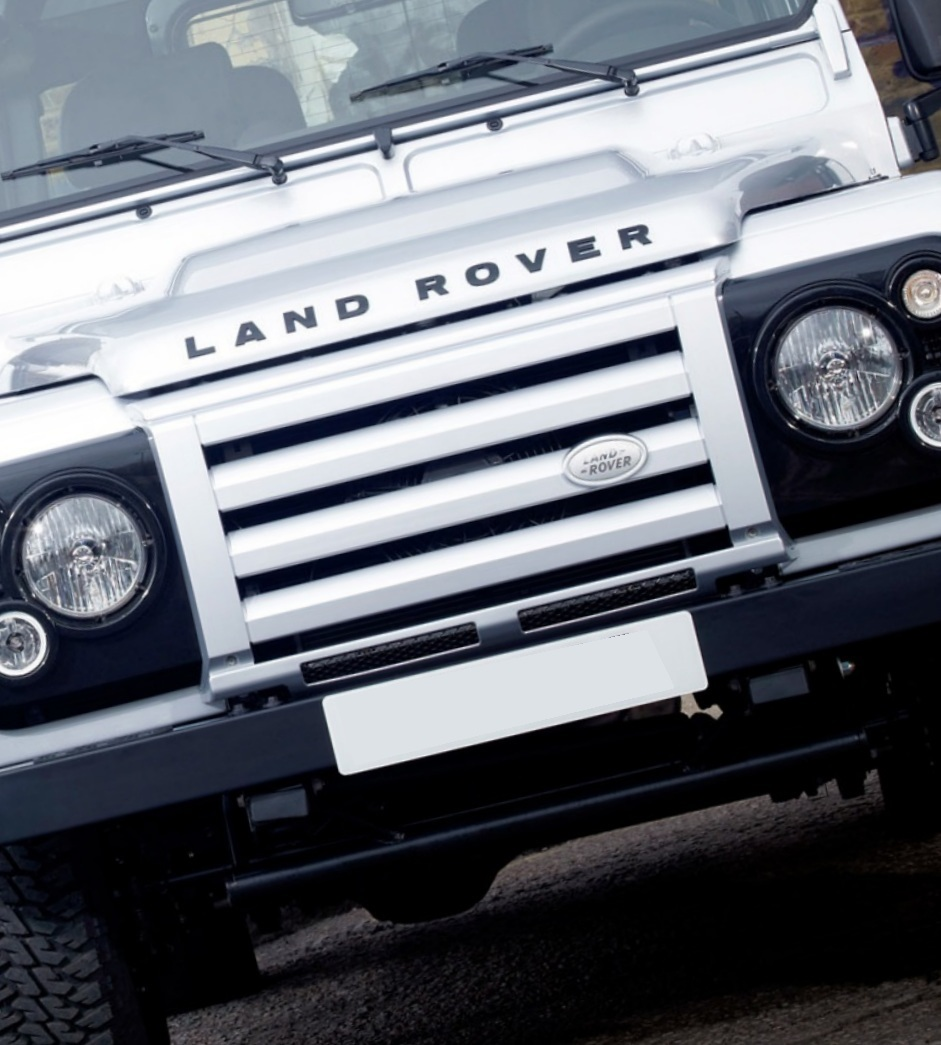 Genuine Land Rover Defender Svx Front Grille In Zermatt