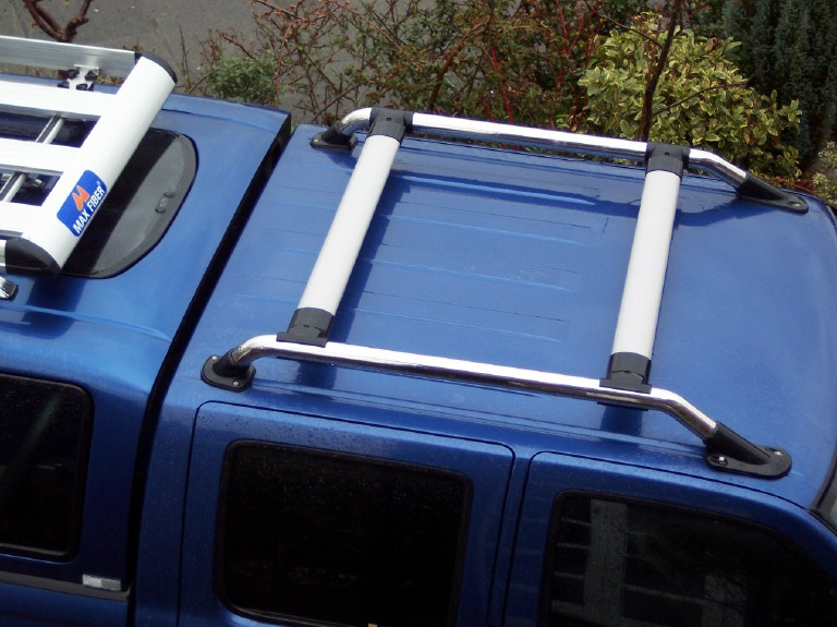 Roof Bar Kit Rack For Nissan Navara D22 Chrome Outlaw