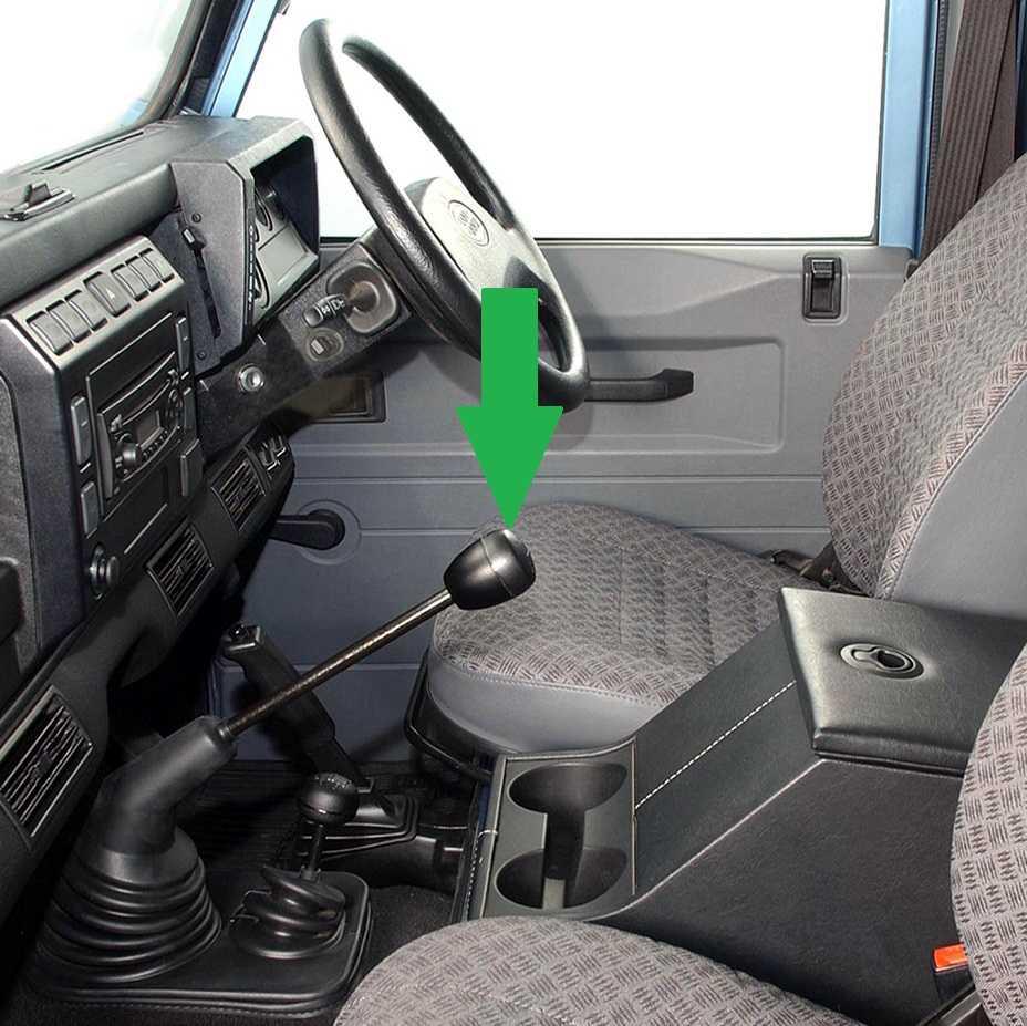 2002 Land Rover Range Rover Interior: Alloy Gear Knob 5 Speed LandRover Defender R380 Aluminium