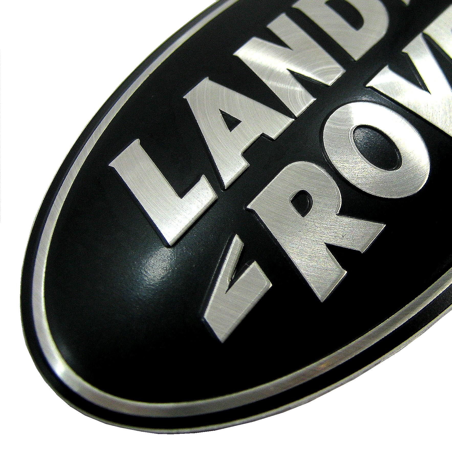 Genuine Land Rover Discovery 3 Blacksilver Front Grlle Oval Badge