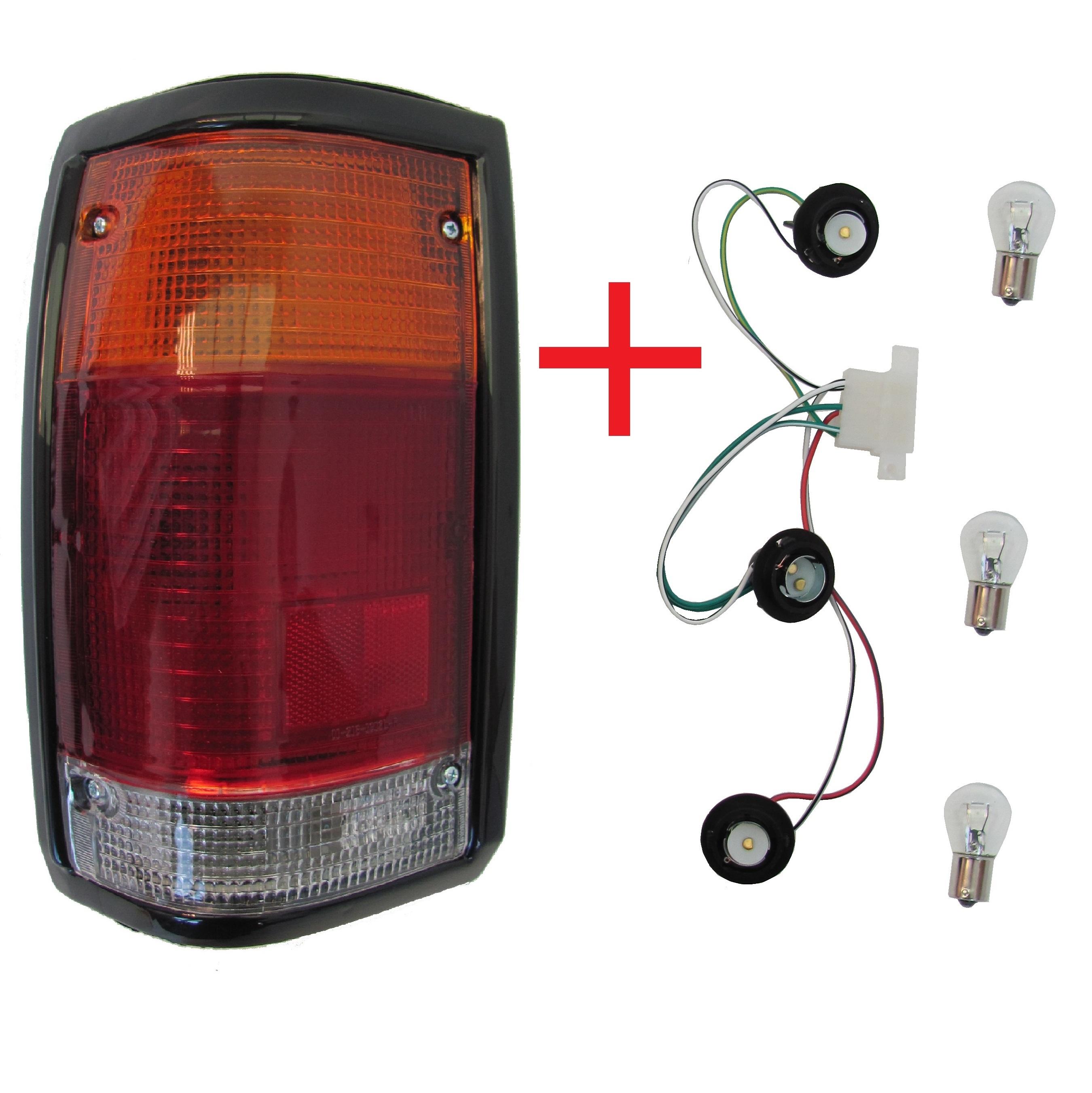 rear light mazda for b2000 b2200 1985 tail lamp black. Black Bedroom Furniture Sets. Home Design Ideas