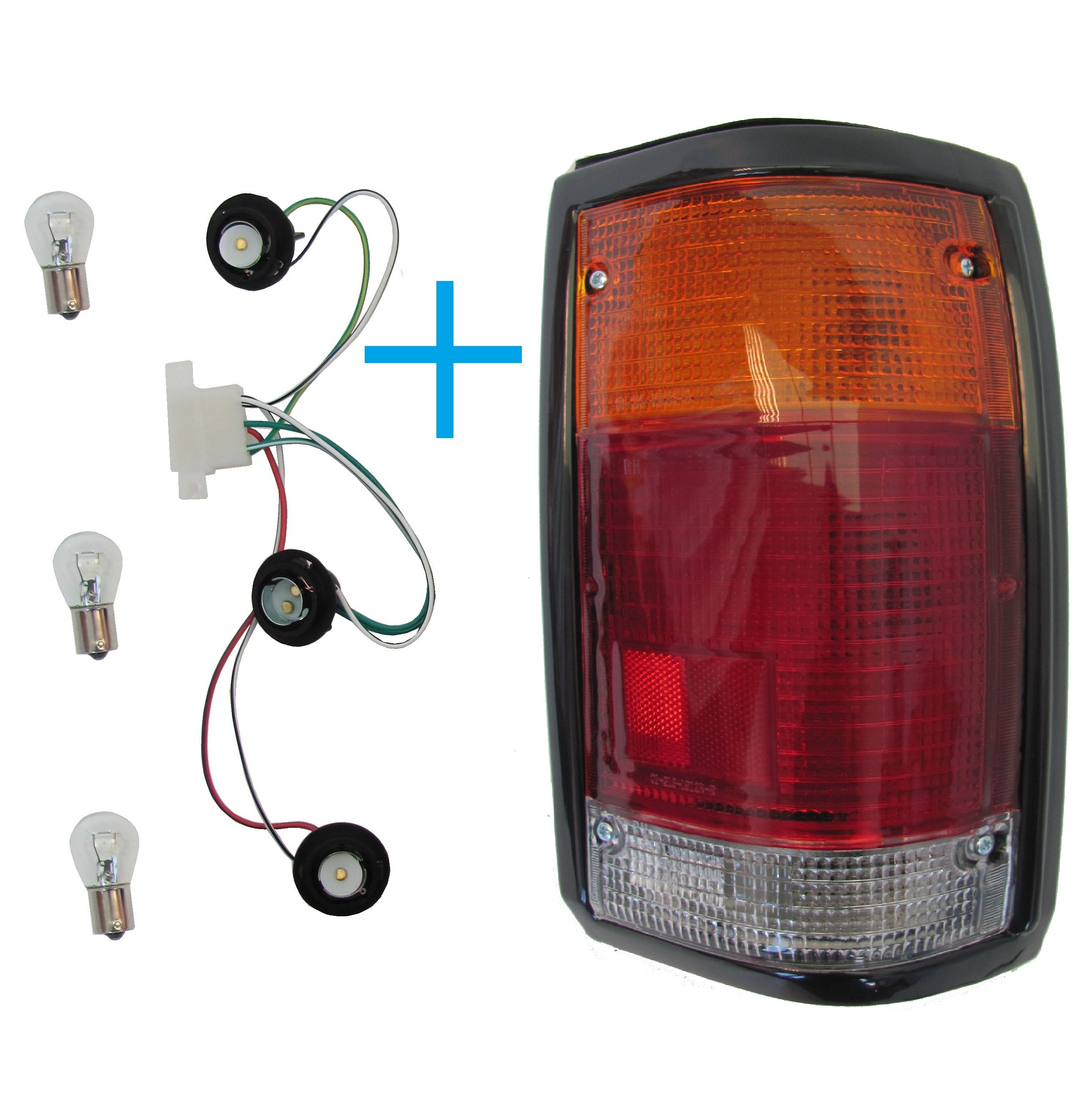 Standard Rear Light ( RIGHT ). Black Surround. Mazda B2200 ...