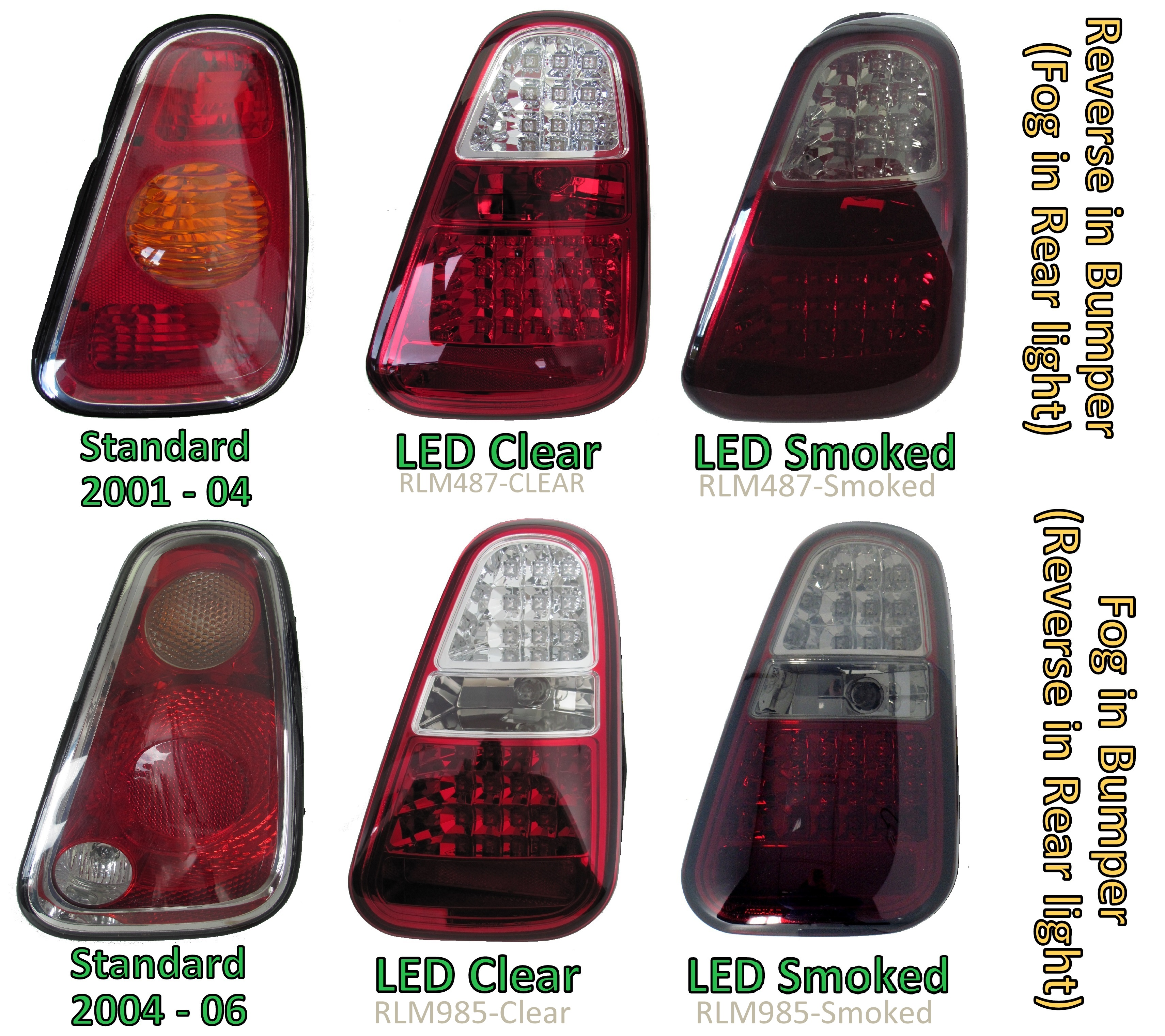 Led Rear Lights For Bmw Mini One Cooper S Tail Lamp R50 R52 2010 Light Swapledwiringjpg Red Conversion