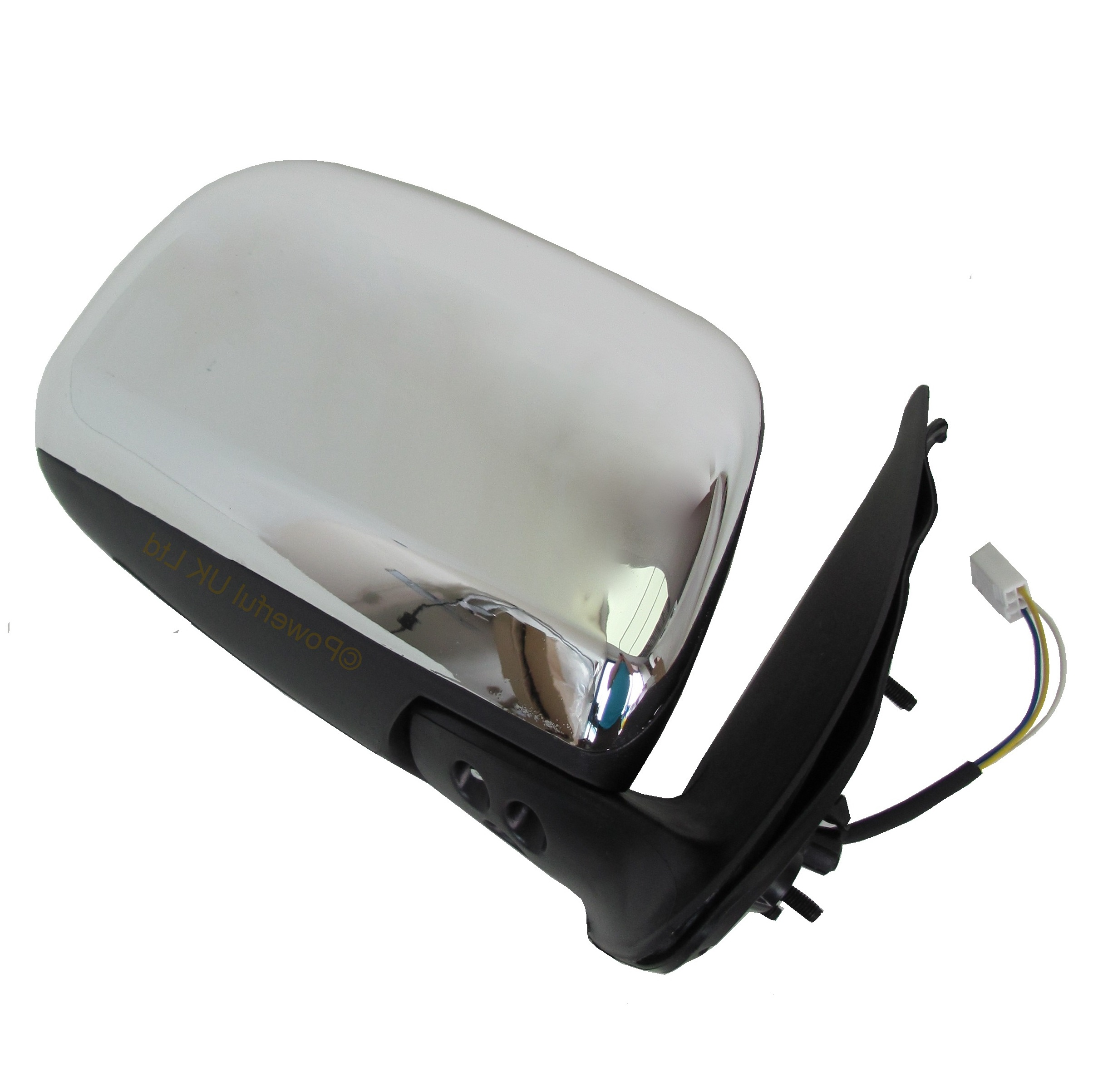 Bmw Z3 Wing Mirror Mount: Chrome Electric Mirror Assembly+Glass For Toyota Hilux