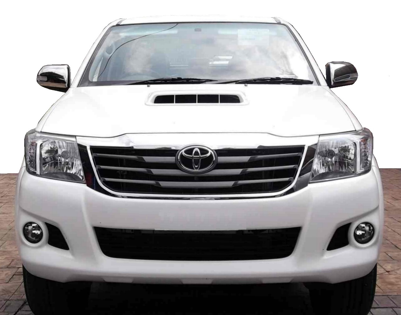 Front Bumper for Toyota Hilux Mk7 2012 Invincible conversion upgrade ...