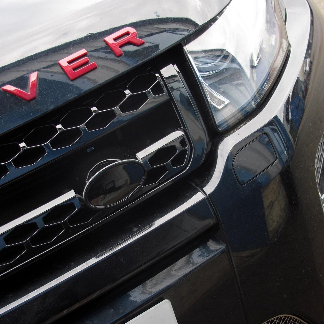 Facelift noir brillant calandre avant pour Range Rover font PURE PRESTIGE Dynamic