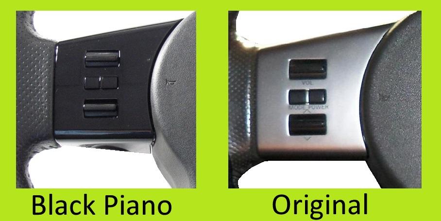 Nero Pianoforte Volante Interruttore Pack Per Nissan Navara D40 Pathfinder Lh 4 Ebay