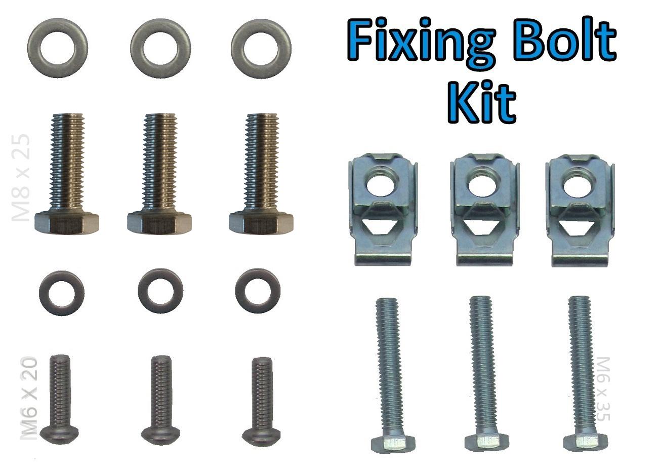 Air suspension compressor fixing bolt kit for Range Rover Sport nut fitting clip