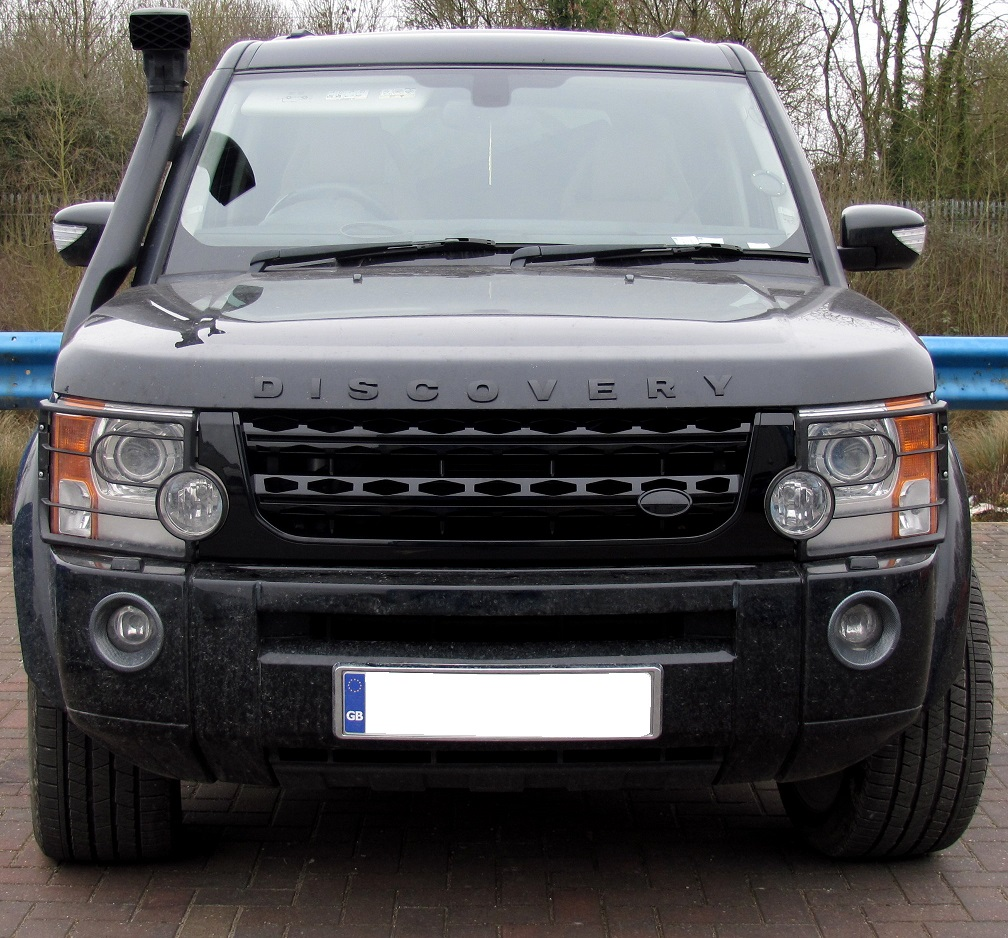 2012 Land Rover Discovery 4 For Sale: Gloss Black Disco 4 2014 Facelift Style Front Grille For
