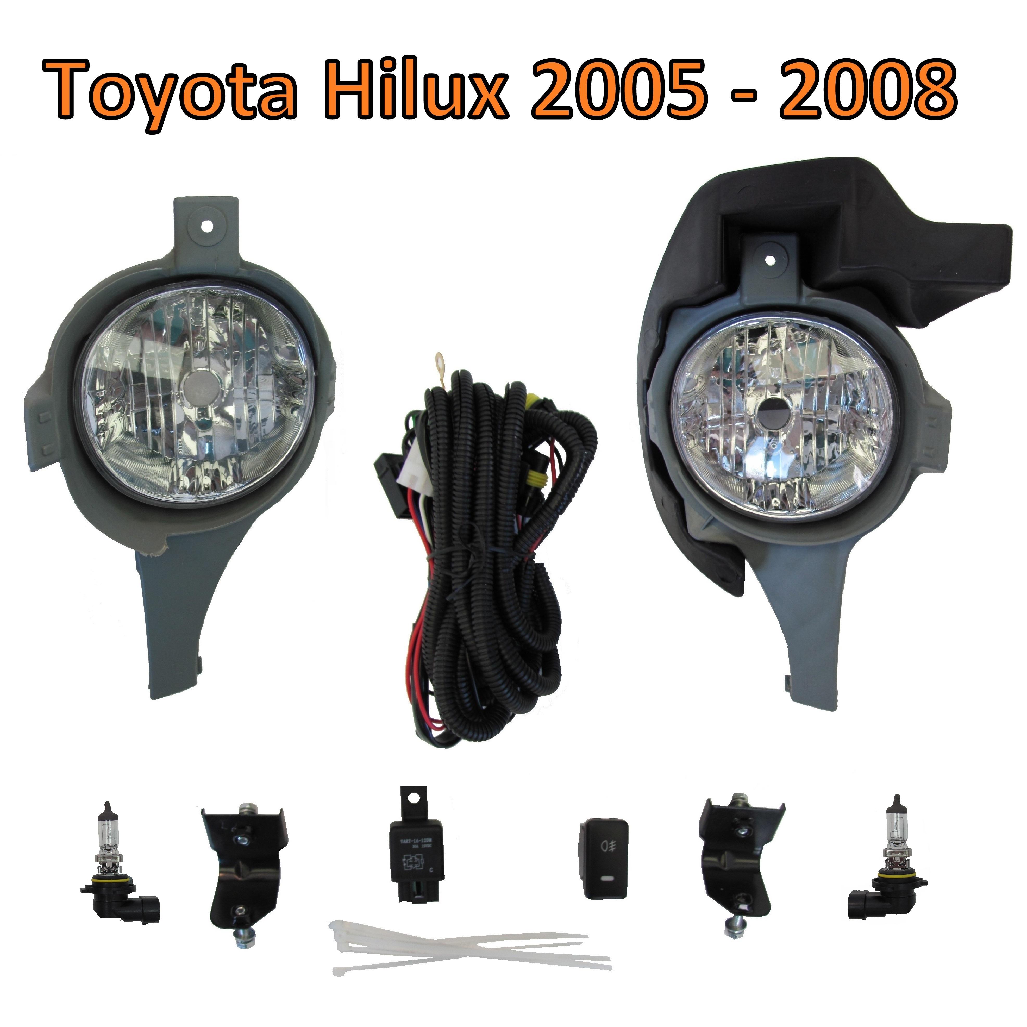 Spot Light Wiring Loom Not Lossing Diagram Driving Toyota Hilux Front Bumper Fog Lamp Kit For Mk6 2005 Uk