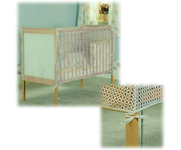 Clippasafe Crib Bed Cat Net Mesh Baby Child Kids Nursery