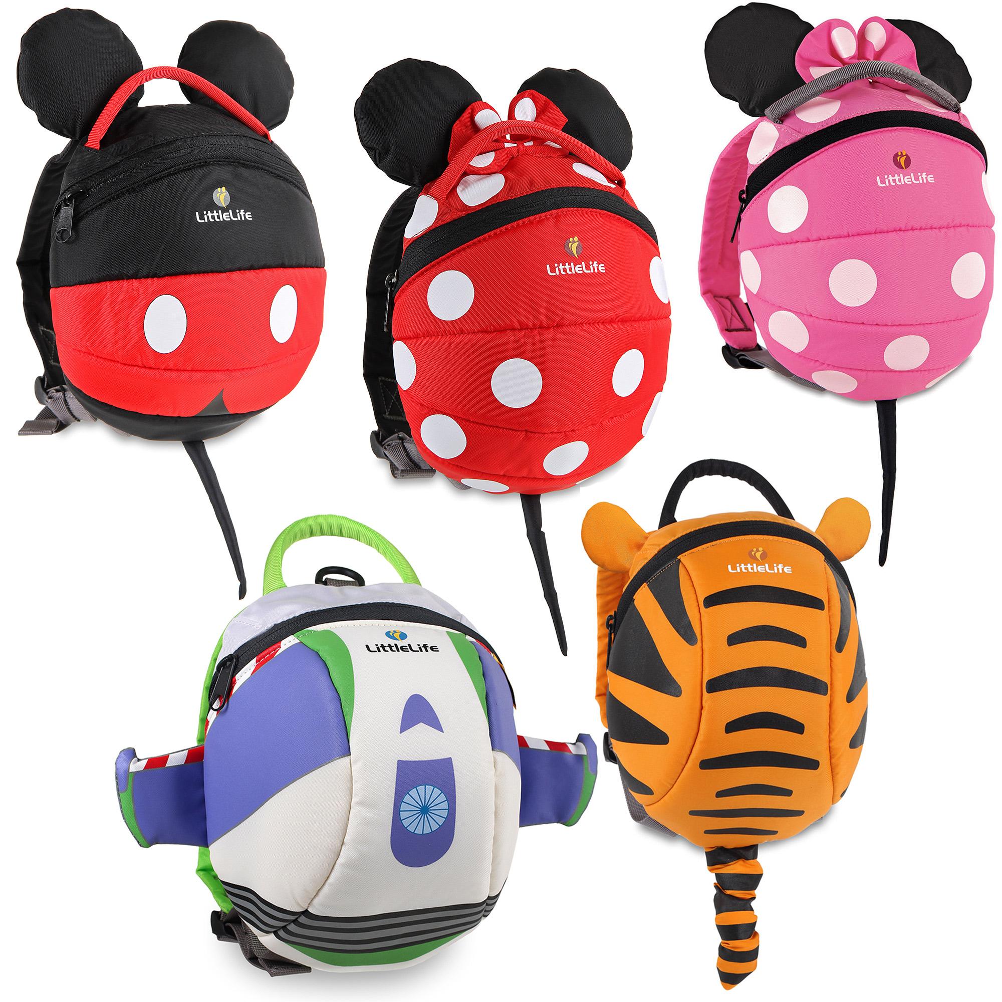 LittleLife DISNEY DAYSACK WITH REIN Baby Toddler Child Backpack