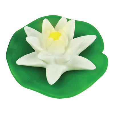 LED Floating Colour Changing Lily Flower Spa Bath Pond