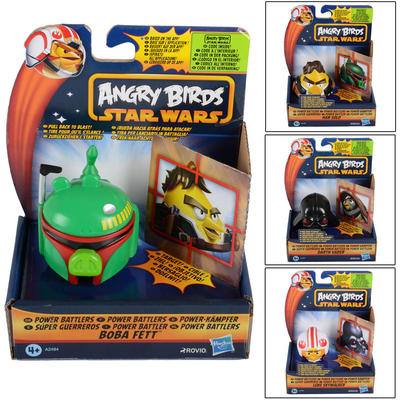 Childrens Star Wars Angry Birds Power Battlers Ages 4+