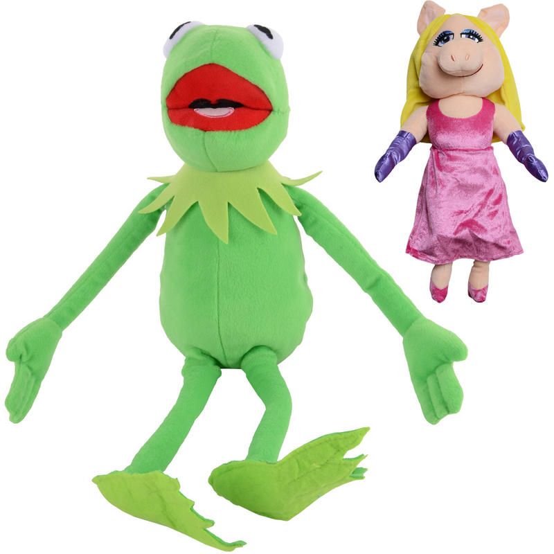 The Muppets Plush Toy Miss Piggy Or Kermit The Frog Age 0+