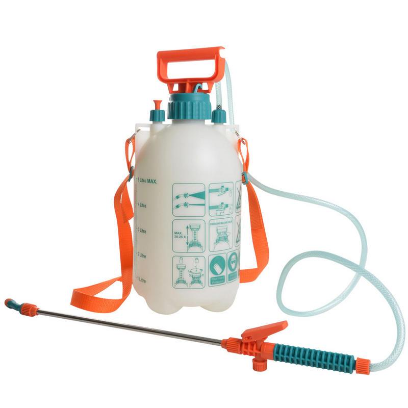 Green Jem Quality Portable 5L Garden Pressure Sprayer With