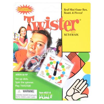 Childrens Twister Travel Key Chain Mini Game