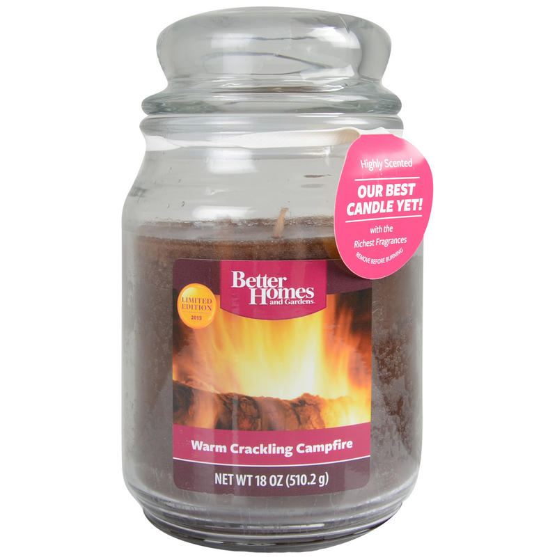 Better Homes Large Scented Jar Candle With Lid 18oz