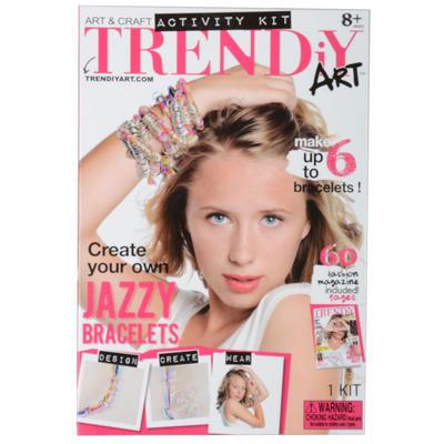 Childrens TRENDiY Jazzy Bracelets Art & Craft Kit