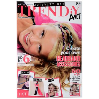 Childrens TRENDiY Headband Accessories Art & Craft Kit