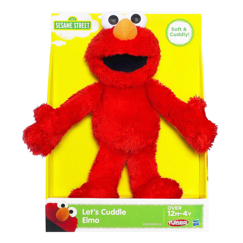 Sesame Street Elmo Toys : Playskool sesame street let s cuddle elmo or cookie