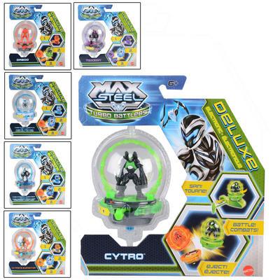 Childrens Max Steel Deluxe Turbo Battle Figure