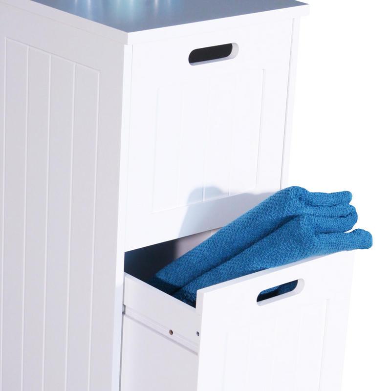 richmond 4 drawer bathroom storage chest thumbnail 3