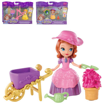 Childrens Disney Sofia The First Doll Set Playset Toy Age 3+