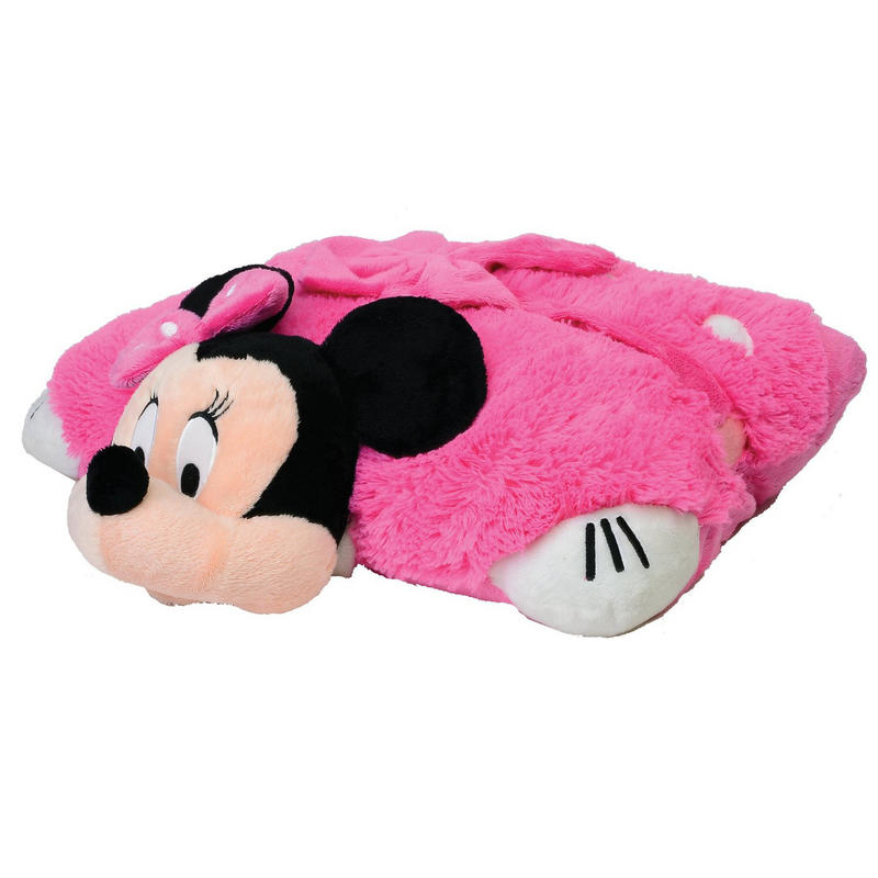 Childrens Disney Minnie Mouse Pillow Pet Soft Toy