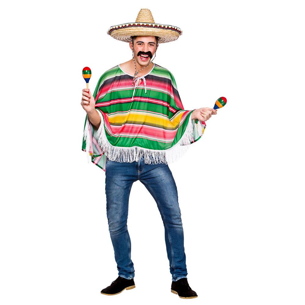 adults mexican bandit poncho fancy dress costume clip art mustache clip art mustache free