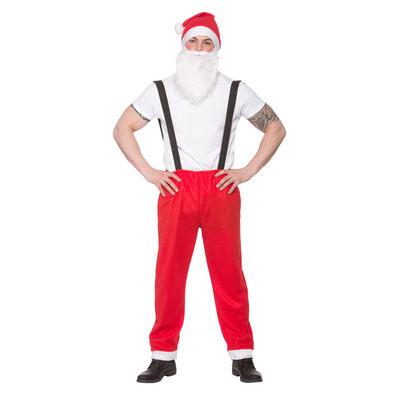 Adults Workshop Santa Christmas Fancy Dress Costume