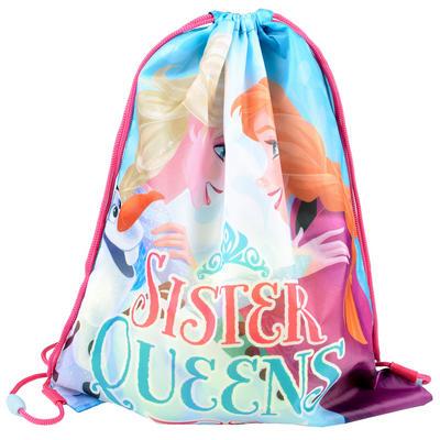 Childrens Frozen Drawstring Gym School Bag
