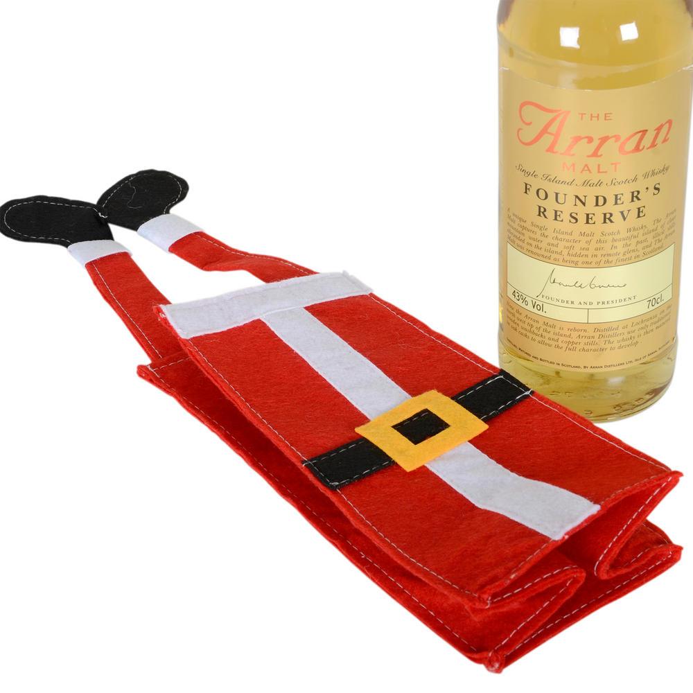 Felt Fabric Santa Claus Christmas Xmas Wine Bottle Gift ...