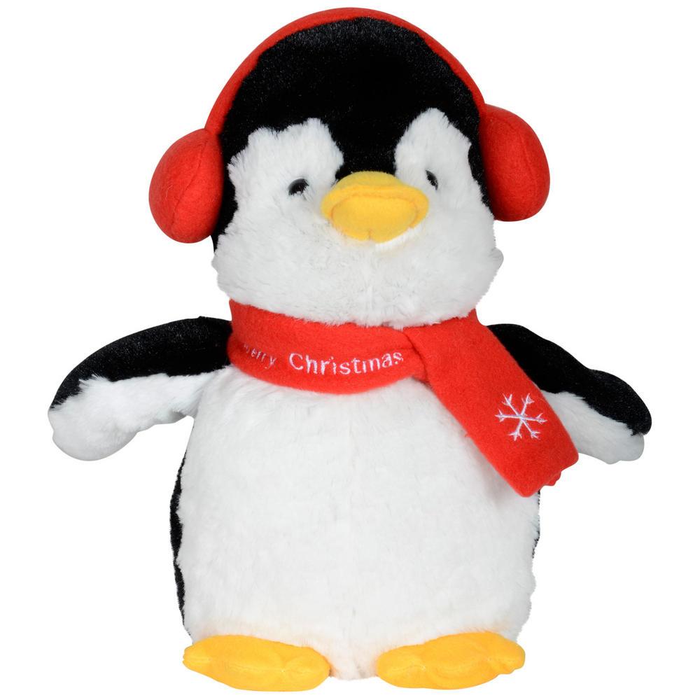 Animated Plush Musical Penguin Christmas Decoration
