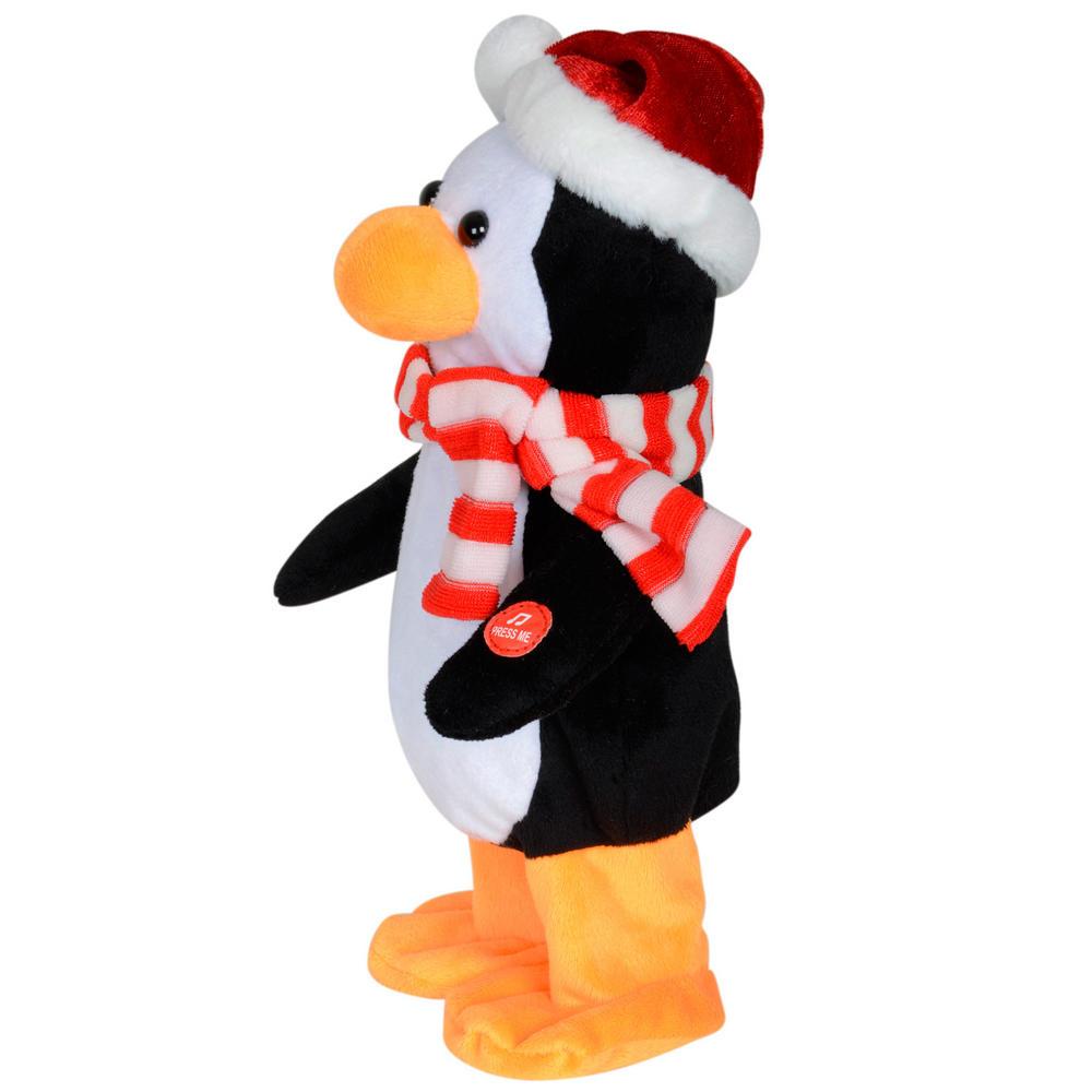 Animated Plush Dancing Musical Penguin Christmas Decoration