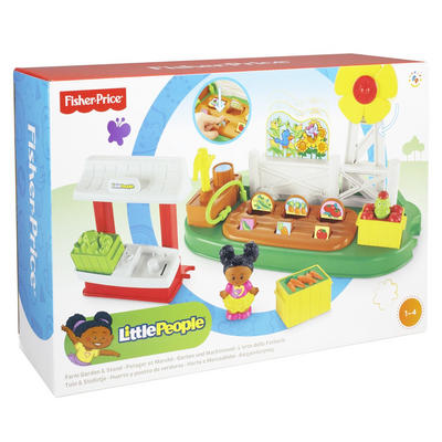 Fisher-Price Little People Farm Garden & Stand Play Set Ages 1-4