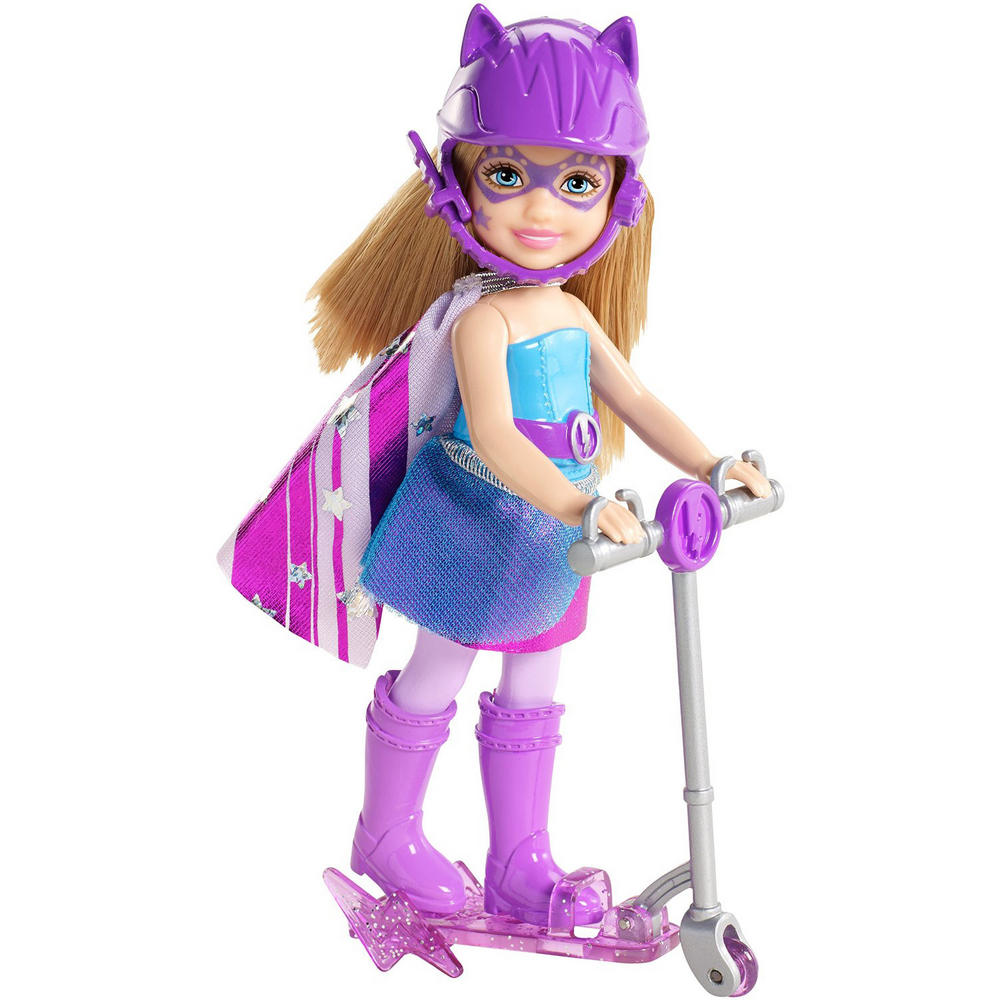 Barbie princess power super hero doll with scooter age 3 - Barbi princesse ...