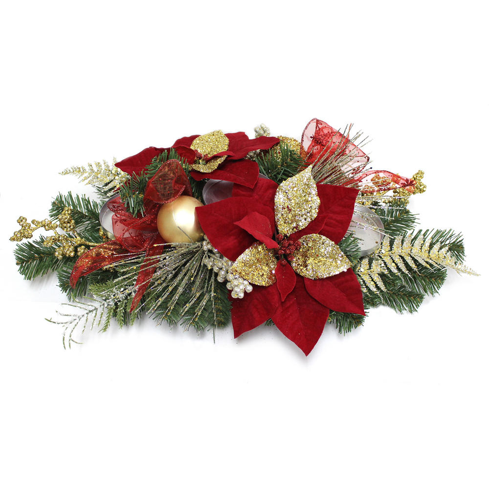 Quot decorated table christmas centerpiece