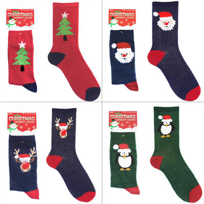 Mens Novelty Christmas Socks UK 7-11