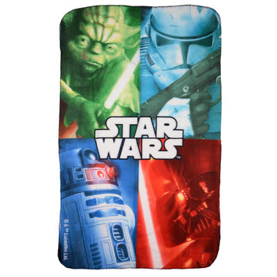 Disney Star Wars Yoda Fleece Blanket