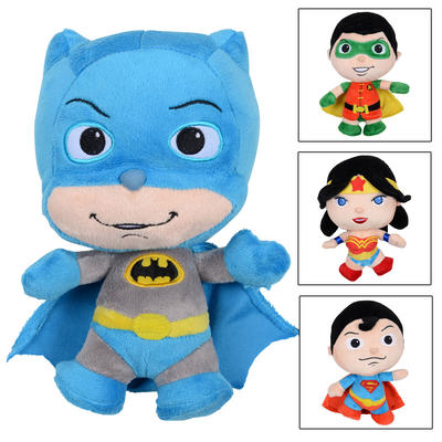 "Childrens 9"" Little Mates Superheroes Soft Toys"