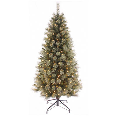 Artificial Pre-lit Warm White LED Christmas Tree
