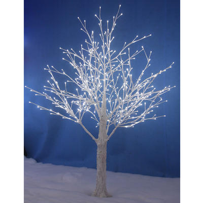 White Snowy Twig Tree White LED Lights Indoor Outdoor Decoration