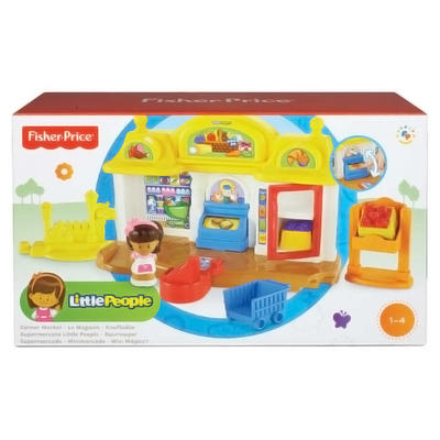 Fisher-Price Little People Corner Market Play Set Ages 1-4