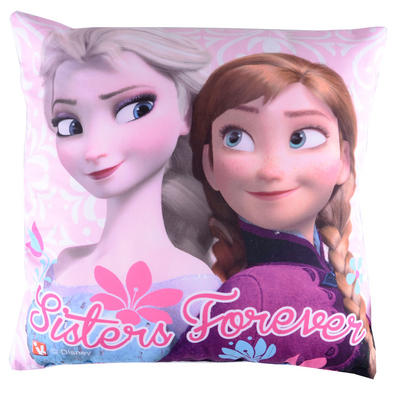 Childrens Disney Frozen Sisters Forever Cushion
