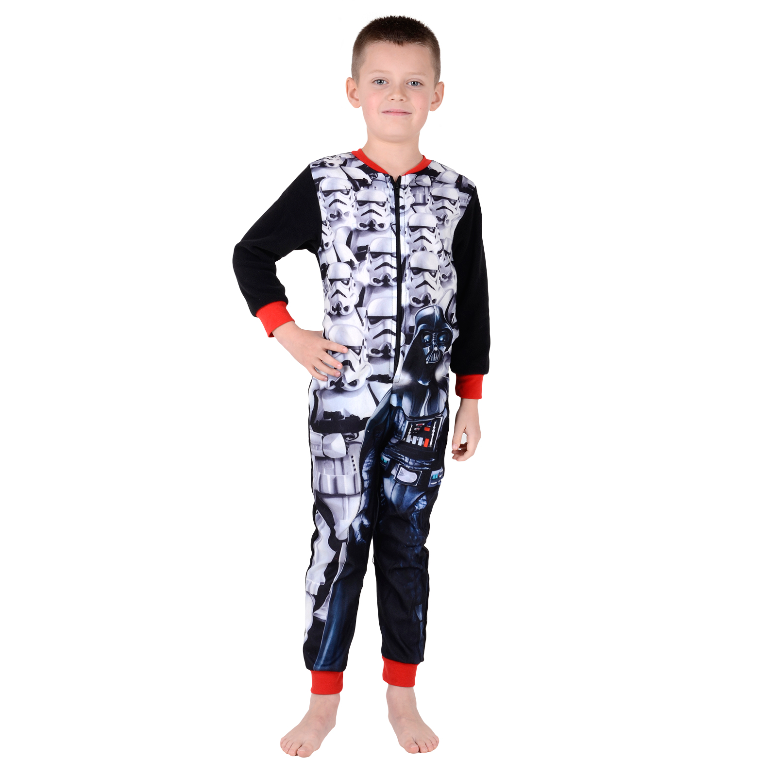 Kids Onesie Official Character Fleece All In One Boys ...