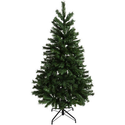 Festive 5ft 152cm Green Mixed Pine Artificial Christmas Holiday Decorative Tree