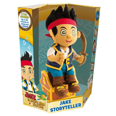 Storyteller Jake & Never Land Pirates Doll 18Months+