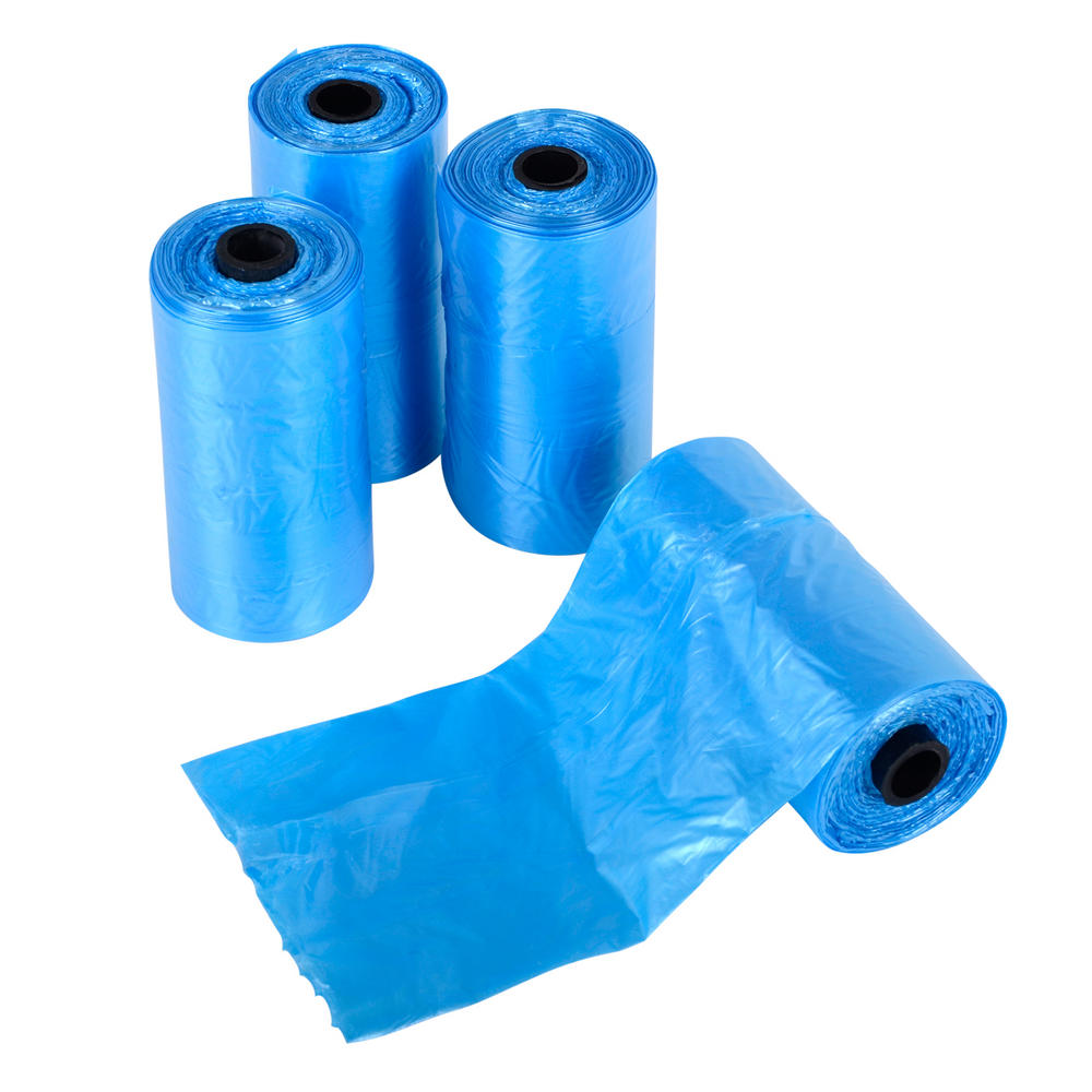 80 pet waste bags clean up 4 rolls 20 bags per